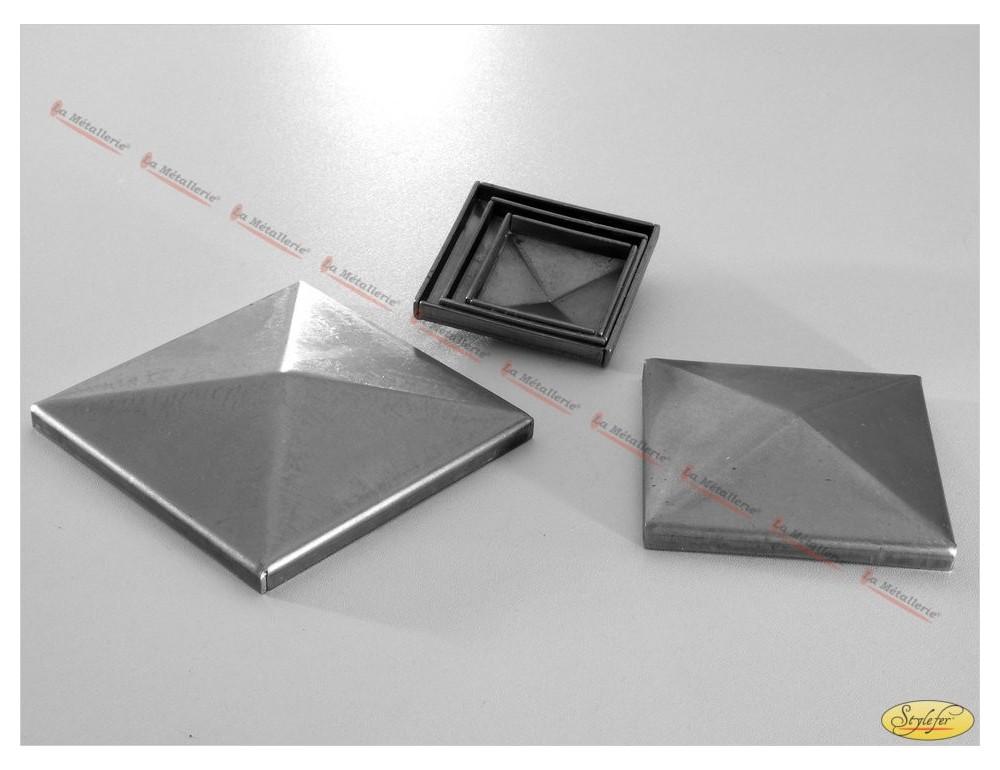 premier taux design professionnel classique chic La Métallerie - FP8 capuchon de tube carré...