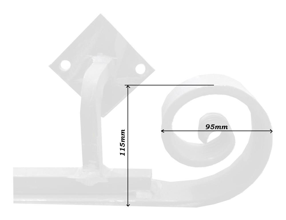 main courante escalier en fer forg. Black Bedroom Furniture Sets. Home Design Ideas