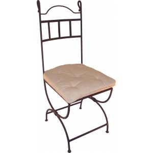 Chaises fer forg fauteuils fer forg for Chaise en fer forge