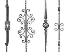 pi ces d tach es fer en barre pi ces ferronnerie. Black Bedroom Furniture Sets. Home Design Ideas
