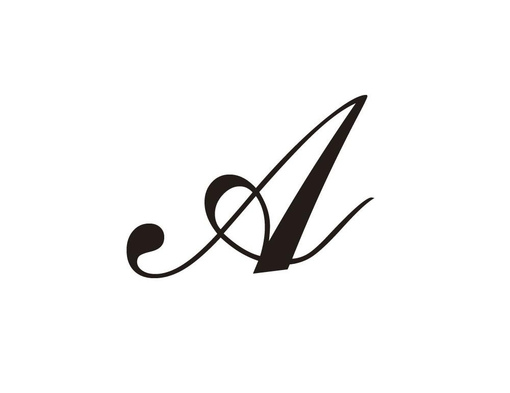 La m tallerie lettre caligraphe a - Z en majuscule ...